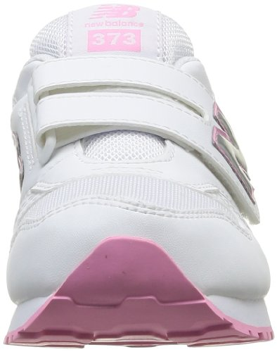 New Balance Jr 373, Zapatillas Unisex Niños Blanco - White/Pink