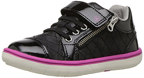 Stride Rite Girls' Srtech Olivia Sneaker, Black, 8 M US (Stride Rite Girls Sneakers)