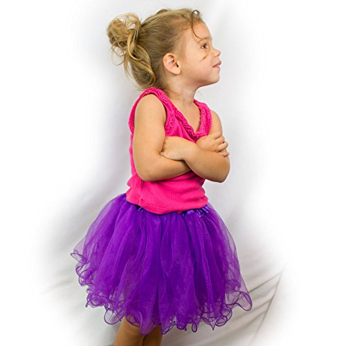 My Lello Little Girls Tutu 3-Layer Ruffle Edge (4 mo - 3T)