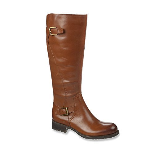 Brown Shoe Franco Sarto Women's Perk Motorcycle Boot (5, ...