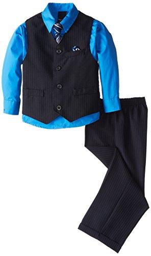 Nautica Boys Sharkskin Vest Set
