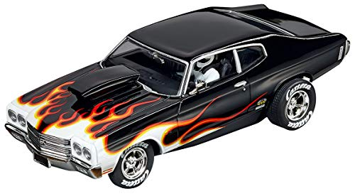 - Carrera Evolution Analog Slot Car Racing Vehicle - 27580 Chevrolet Chevelle SS 454 Super Stocker II (1:32 Scale)