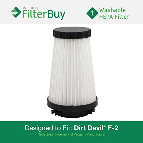 dirt devil f2 filter washable - 7