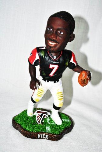 Atlanta Falcons Black Football Case (Atlanta Falcons #7 Michael Vick Black Jersey Forever Collectibles NEW IN BOX FOOTBALL BOBBLE HEAD 8