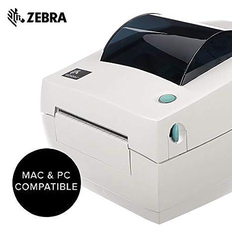 Zebra GC420d Monochrome Desktop Direct Thermal Label Printer, 4 in/s Print  Speed, 203 dpi Print Resolution, 4 09