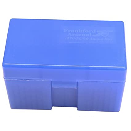 Frankford Arsenal #210 - 270-30/06 Caliber 20 ct  Ammo Box for Convenient  Storage