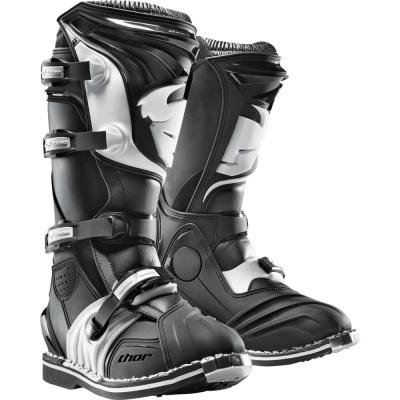 Thor Motocross Boots - Thor MX Quadrant 2 Men's Off Road Motorcycle Boots Black size 6