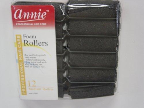 (Annie Foam Rollers (Black) Size: Small14pc)