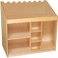 Wood Designs WD18150 Mobile Listening & Storage Center, 29 x 30 x 18' (H x W x D)