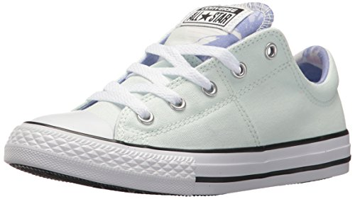 Converse Girls' Madison Palm Trees Low Top Sneaker, Barely Green/Twilight Pulse, 11 M US Little Kid