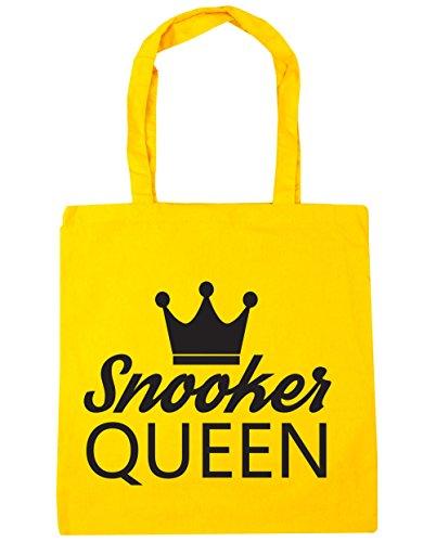 HippoWarehouse billar Reina bolsa de la compra bolsa de playa 42cm x38cm, 10litros amarillo