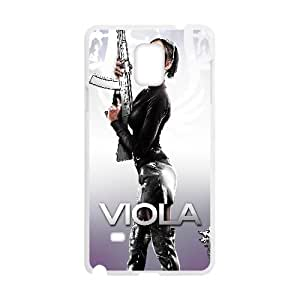 Viola Saints Row The Third Game Samsung Galaxy Note 4 Cell Phone Case White Customized Toy pxf005_9675851