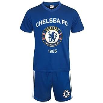 Chelsea FC - Pijama corto para hombre - Producto oficial - Medium