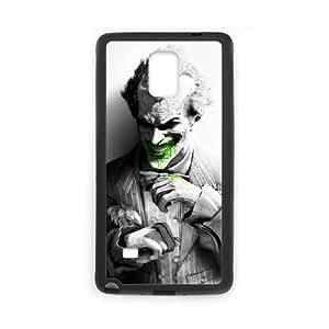 the joker arkham city Samsung Galaxy Note 4 Cell Phone Case Black 53Go-348481