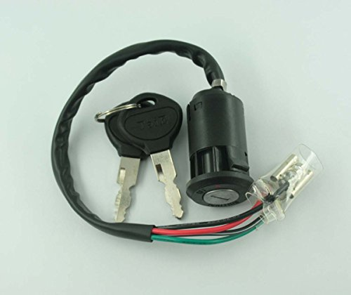 XtremeAmazing Ignition Key Switch For Honda TRX125 FOURTRAX 125 ATC200M ATC125M ATC 200 (Honda 125 Fourtrax)