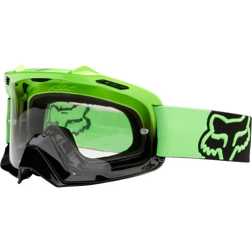 Fox Racing AIRSPC Goggle - Day Glow Green/Clear (Fox Goggles)
