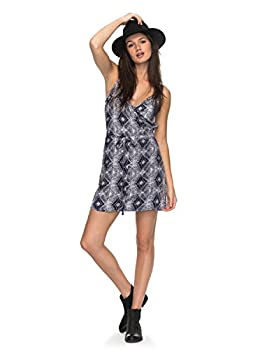 Roxy Womens Roxy Drifting Current - Strappy Wrap Dress - Women - S - Blue Dress Blue Chamane Voice S 1