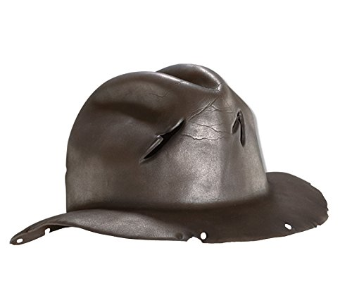 A Nightmare On Elm Street Molded Freddy Krueger Fedora, Brown, One Size