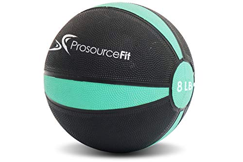 ProSource Fit Weighted Medicine Ball for Full Body Workouts