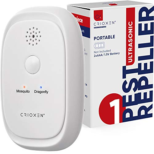 Ultrasonic Pest Repeller - Non-Toxic Portable Pest Control Repeller Anti Insects Mosquito Repellent, Bugs, Roaches w…