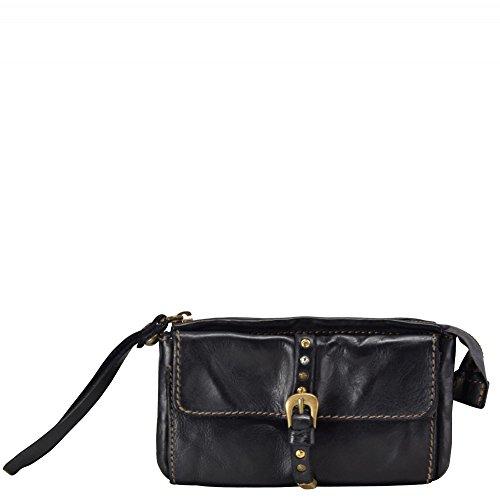 Campomaggi Istanbul borsa - Pochette pelle 17 cm Nero