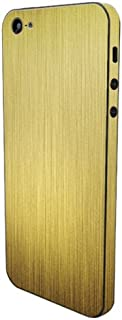 product image for Slickwraps Metal Series Protective Film for iPhone 5 - Gold