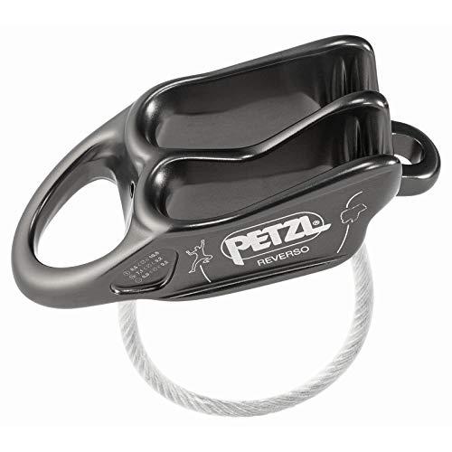 Petzl Reverso Belay/Rappel Device Grey ONESIZE ()