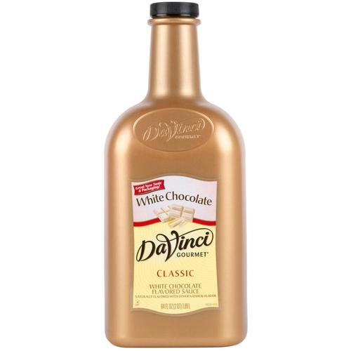 Da Vinci Gourmet White Chocolate Sauce - 1/2 Gallon