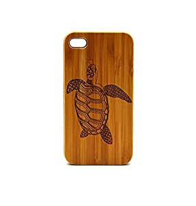Krezy Case Real Wood iPhone 4s Case, Sea Turtle iPhone 4s Case, eyes iPhone 4s Case, Wood iPhone Case,