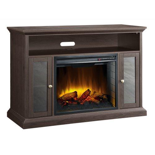Pleasant Hearth 23 Inch Riley Espresso Media Electric Fireplace