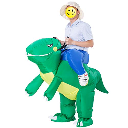 ESHIRYU Halloween Inflatable Dinosaur Costume, T-Rex for sale  Delivered anywhere in USA