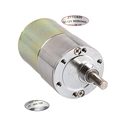 BQLZR High Torque 12V DC 100 RPM Gear-Box Electric Motor Replacement
