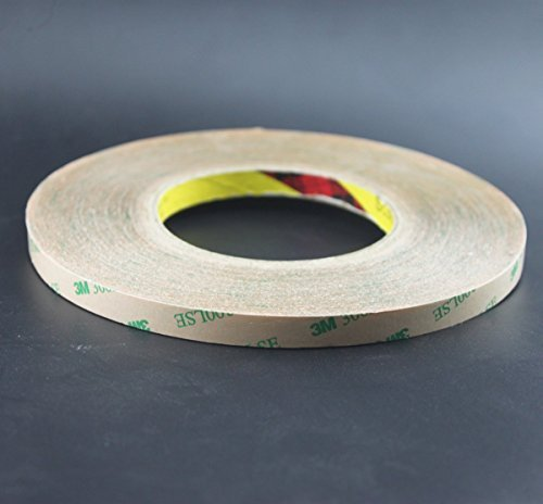 Rextin 50M Meters 10MM 3M Double Sided Tape Adhesive stro...