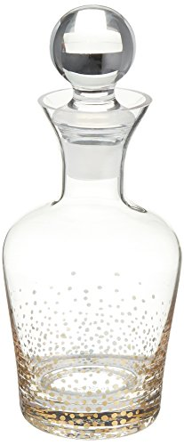 Fitz and Floyd Luster Decanter, Gold ()