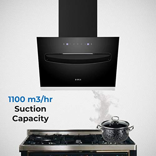 Elica 60 cm 1100 m3/hr Filterless Chimney EFL-S607 VMS Motion Sensor Control at best price