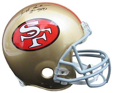 Jerry Rice 49ers Autographed/Signed Proline Helmet JSA WP459013