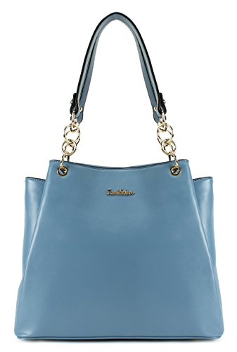 Scarleton Fashionable Modern Chic Satchel H171850 - Light Blue by Scarleton