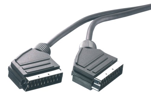 Vivanco Audio-/Videokabel, Scartstecker <-> Scartstecker, vollverschaltet, 1,2m