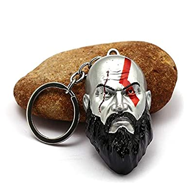 Amazon.com: God Of War 4 Keychain Kratos Axe Key Chains ...