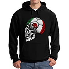The Mexican Women's National Team have begun their quest for the 2015 Women's Championship. Show your support by wearing our unique Mexican mascot skull flag skull Apparel. Premium quality hoodie. 50% cotton/50% polyester, 7.8 oz thick fabric...