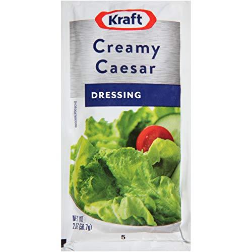 (Kraft Signature Creamy Caesar Dressing, 2 oz. sachet, Pack of 60)