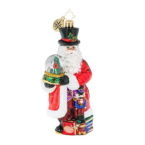 Christopher Radko Dance Of The Sugar Plum Fairy Nutcracker Ballet Themed Santa Glass Ornament (Sugar Plum Fairy Stocking)
