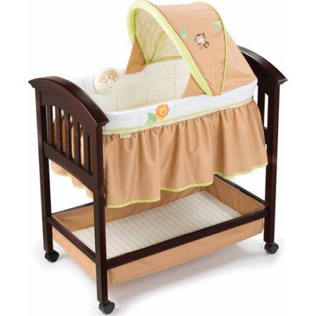 Summer Infant Classic Comfort Wood Bassinet - Swingin Safari