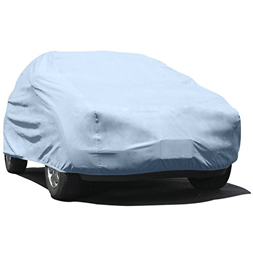 Budge Duro Station Wagon Cover Fits Station Wagons up to 200 inches, DS-2 - (Polypropylene, (1995 Mercury Sable Station Wagon)