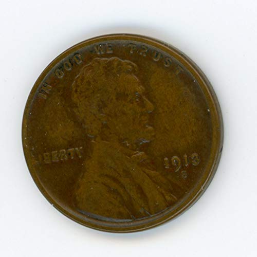 1913 S Lincoln Cent XF-40
