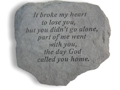 Stepping Stone- It broke my heart