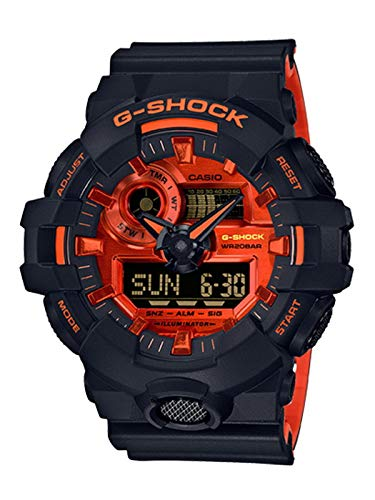 G-Shock Men's GA-700BR-1ACR Black One Size