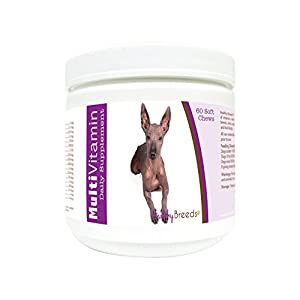 Healthy Breeds Multivitamin Daily Dietary Supplement - Over 200 Breeds - Vet Recommended Formula - Bacon Flavored Soft Chews - 60 Count 5