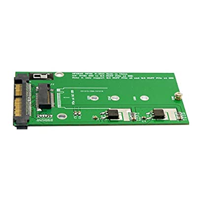JSER SFF-8639 NVME U.2 to NGFF M.2 M-key PCIe SSD Adapter for Mainboard Replace Intel SSD 750 p3600 p3700 by ChenYang