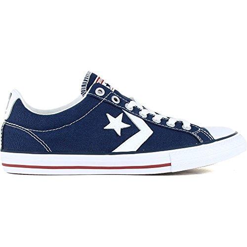 290360 8 navy Ev De Ox 410 Zapatillas Sp Niños Para Azul white Converse Tela 34 Canvas HYIwSO
